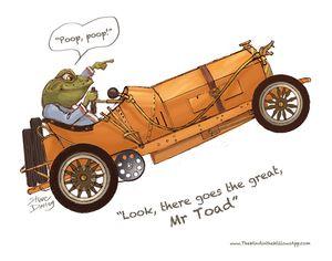 Toad-Car-Steve-Dooley